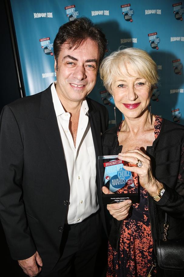 Broadway.com - Audience Choice Awards - 5/15 - John Gore - Helen Mirren