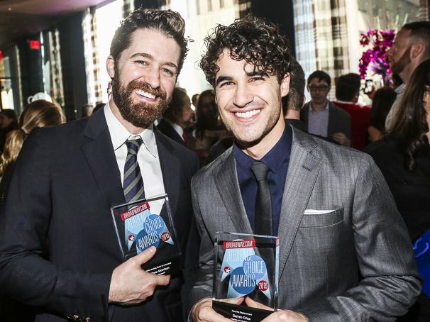 Broadway.com - Audience Choice Awards - 5/15 - Matthew Morrison - Darren Criss