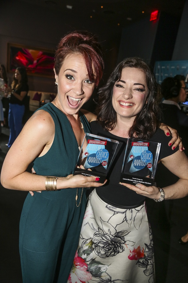 Broadway.com - Audience Choice Awards - 5/15 - Sierra Boggess - Laura Michelle Kelly