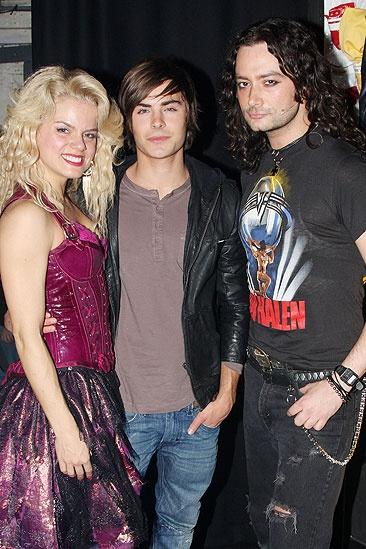 Zac Efron at Rock of Ages – Amy Spanger – Zac Efron – Constantine Maroulis