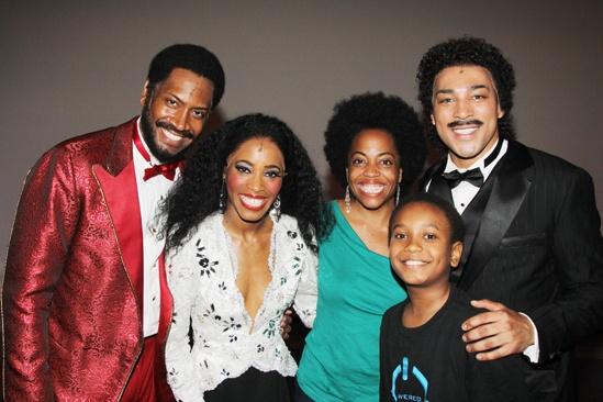 Diana Ross at 'Motown' — Bryan Terrell Clark — Valisia LeKae — Rhonda Ross Kendrick — Darius Kaleb — Charl Brown