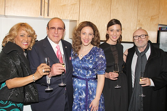 <I> Beautiful: The Carole King Musical</I>: Opening - Darlene Love - Clive Davis - Jessie Mueller- Sara Bareilles - Phil Collins