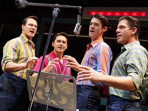 Jersey Boys - Show Photos - PS - 7/14 - Matt Bogart - Ryan Molloy  - Drew Gehling - Richard H. Blake