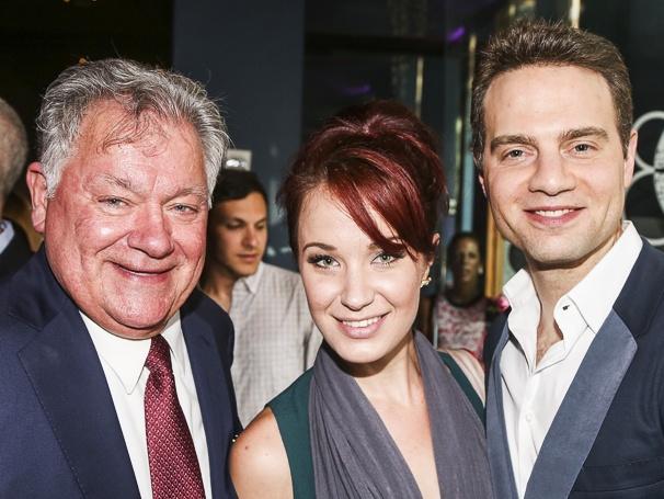 Broadway.com - Audience Choice Awards - 5/15 - Robert Wankel - Sierra Boggess - Jordan Roth