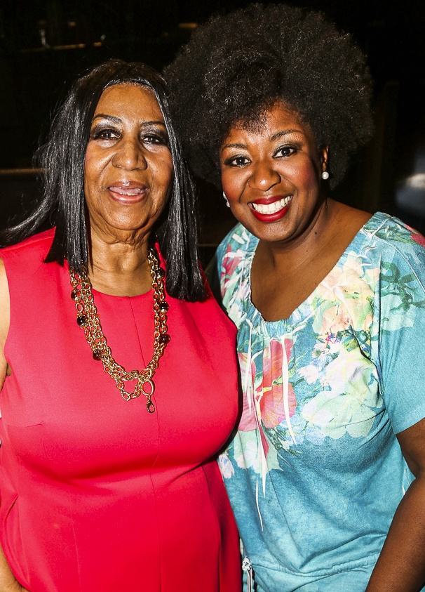 Chicago - Backstage - 5/15 -Aretha Franklin -  NaTasha Yvette Williams