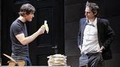 Mark-Paul Gosselaar and Justin Kirk in The Understudy.