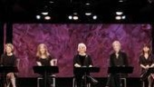 Mary Louise Wilson, Lisa Joyce, Tyne Daly, Jane Lynch and Mary Birdsong in Love, Loss and What I Wore.