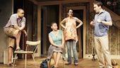 Damon Gupton, Crystal A.  Dickinson, Annie Parisse and Jeremy Shamos in Clybourne Park.