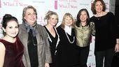 April 2010 Cast of Love, Loss – Lucy DeVito – Jayne Houdyshell – Melissa Joan Hart – Shirley Knight – Karen Carpenter – Judy Gold