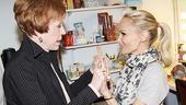 Burnett & Mullally at Promises, Promises – Carol Burnett – Kristin Chenoweth 2