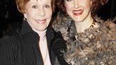 Burnett & Mullally at Promises, Promises – Carol Burnett – Katie Finneran