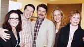 Burnett & Mullally at Promises, Promises – Megan Mullally – Sean Hayes – Nick Offerman – Katie Finneran – Carol Burnett