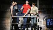 Show Photos - American Idiot bway - Michael Esper - Stark Sands - John Gallagher Jr.