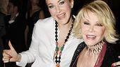 Promises, Promises opening – Katie Finneran – Joan Rivers