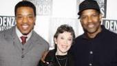 Fences Opening Night – Russell Hornsby – Carole Shorenstein Hays – Denzel Washington