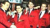 Jersey Boys at NYSE - Christian Hoff - John Lloyd Young - J. Robert Spencer - Daniel Reichard