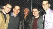 Donna Summer at Jersey Boys - Daniel Reichard - Christian Hoff - John Lloyd Young - J. Robert Spencer