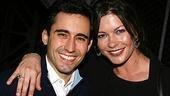 Catherine Zeta-Jones and Michael Douglas Visit Jersey Boys - Catherine Zeta-Jones - John Lloyd Young