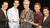 Jersey Boys Gets the Grammy - Christian Hoff - J. Robert Spencer - Bob Gaudio - Daniel Reichard - John Lloyd Young
