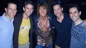 Photo Op - Richie Sambora at Jersey Boys - Christian Hoff - Daniel Reichard - Richie Sambora - John Leone - John Lloyd Young