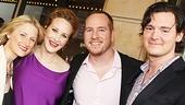 Peter and the Starcatcher Opening Night – Mamie Gummer – Katie Finneran – Darren Goldstein – Benjamin Walker