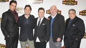 Bullets Over Broadway - Meet and Greet - OP - Nick Cordero - Zach Braff - Brooks Ashmanskas - Lenny Wolpe - Vincent Pastore