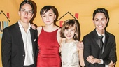 Fun Home - Opening - 4/15 - Alison Bechdel - Emily Skeggs - Sydney Lucas - Beth Malone