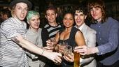 Hedwig and the Angry Inch - 4/15 - Darren Criss - Tim Mislock  -  Matt Duncan - Peter Yanowitz - Rebecca Naomi Jones- Darren Criss - Justin Craig