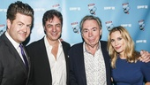 Broadway.com - Audience Choice Awards - 5/15 - Paul Wontorek - John Gore - Andrew Lloyd Webber - Imogen Lloyd Webber