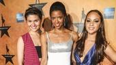 Hamilton - Opening - 8/15 - Phillipa Soo, Renee Elise Goldsberry and Jasmine Cephas Jones