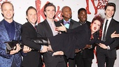 Kinky Boots Opening- Kyle Post- Paul Canaan- Charlie Sutton- Cyndi Lauper- Kevin Smith Kirkwood- Kyle Taylor Parker- Joey Taranto