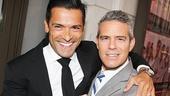 Casa Valentina - Opening - OP - 4/14 - Mark Consuelos - Andy Cohen