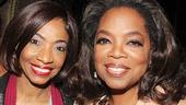 After Midnight - backstage - OP - 5/14 - Adriane Lenox - Oprah Winfrey