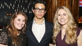 Broadway.com - Audience Choice Awards - 5/15 - Caitlin McNaney - Alexander Goyco - Lindsay Champion