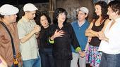 Chita Rivera at In the Heights - Chita Rivera - cast (talking)