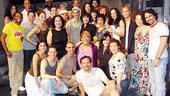 Chita Rivera at In the Heights - full cast - Chita Rivera - Lisa Mordente