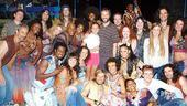 Jason Mraz and Judd Apatow at Hair - Judd Apatow - Maude Apatow - cast of Hair