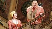 Ana Gasteyer as Kitty Dean and Reg Rogers as Tony Cavendish in Royal Family.
