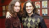 Swenson and Creel at Sardi's – Will Swenson – Constantine Maroulis