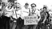 Hair at the National Equality March - Gavin Creel - parents