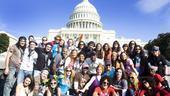 Hair at the National Equality March - Gavin Creel - Will Swenson - James Rado - Cynthia Nixon