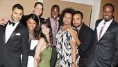 Drama League gala for NPH - 2014 - Justin Johnston - Christina Sajous - Ben Thompson - Caren Tackett - Marcus Paul James - Aisha De Haas - Andy Senor - King Aswad