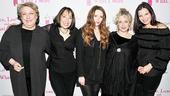 March 2010 Love, Loss cast – five ladies