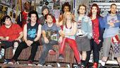American Idiot Sound Check - Cast Stage Right