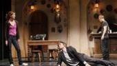 Julie White, Justin Kirk and Mark-Paul Gosselaar in The Understudy.