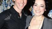 New Mary Poppins Stars 2009 at Sardi's – Christian Borle - Laura Michelle Kelly