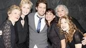 Matthew Morrison at Love, Loss and What I Wore - Mary Louise Wilson - Jane Lynch - Matthew Morrison - Mary Birdsong - Tyne Daly - Lisa Joyce