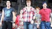American Idiot Sound Check - Michael Esper - John Gallagher Jr - Stark Sands