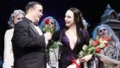 The Addams Family opening – cc -Nathan Lane – Bebe Neuwirth rose