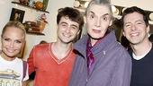 Daniel Radcliffe at Promises, Promises – Kristin Chenoweth – Daniel Radcliffe – Marian Seldes – Sean Hayes